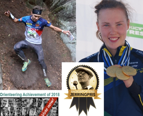 Miloš till World of Os Achiment of the year och Tove nominerad till radiosportens Jerringpris.